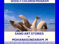Weekly Children Program - Sand Art Stories - 22.12.2019