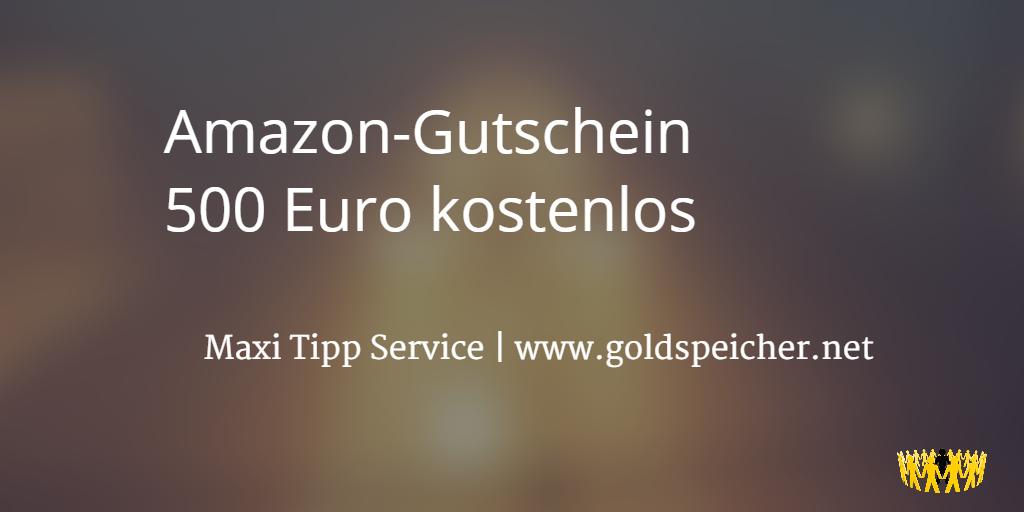 Amazon 500 gutschein