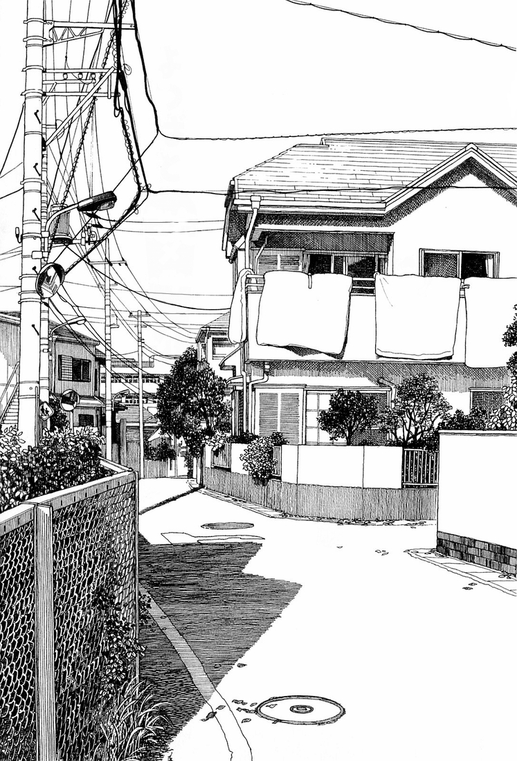 07-Kiyohiko-Azuma-Architectural-Urban-Sketches-and-Cityscape-Drawings-www-designstack-co