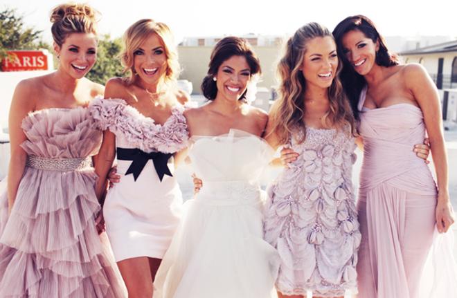 642111ddae8c Per un matrimonio all insegna del romanticismo e del glamour più assoluto  le nozze si colorano di sfumature pastello