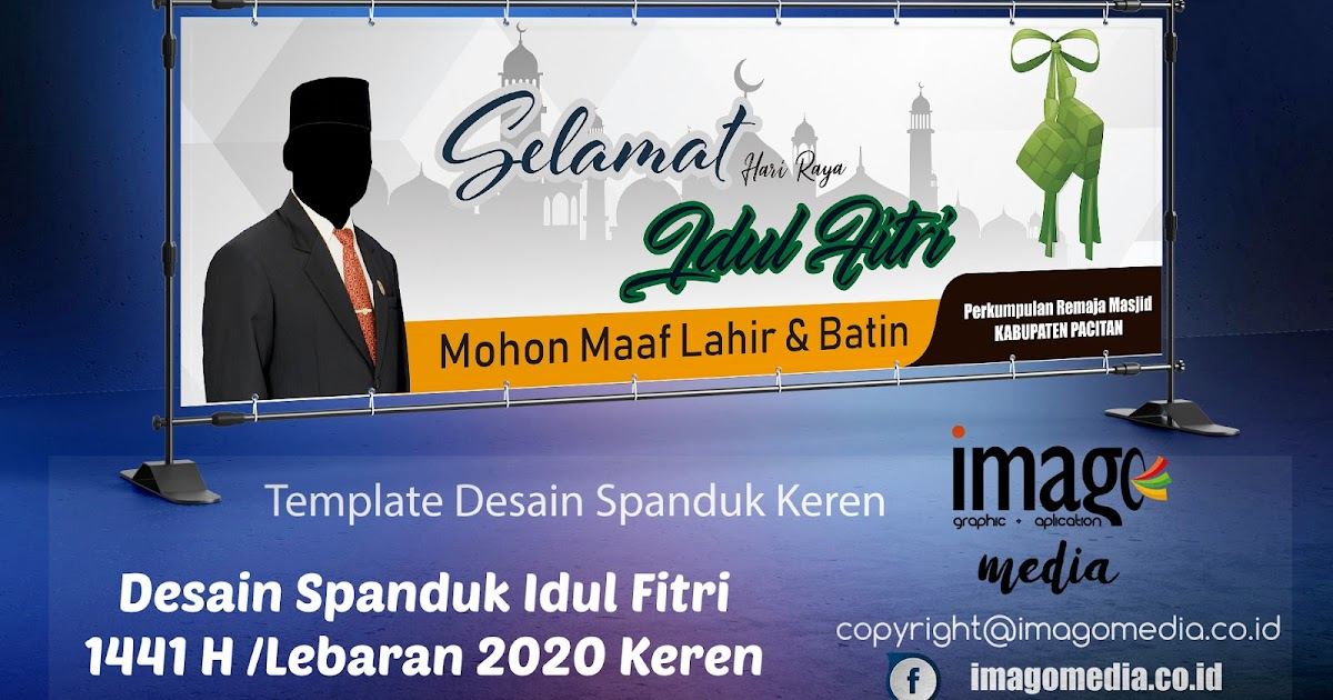 Desain Spanduk Idul Fitri Lebaran 2020 Keren - Imago Media ...