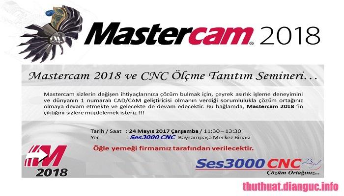 Download Mastercam 2018 – 2019 Update 3.1 Full Crack, Phần mềm thiết kế và soạn thảo 3D, Mastercam 2018, Mastercam 2019, Mastercam, Mastercam free download, Mastercam full key