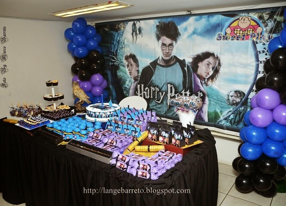 Aniversário tema Harry Potter