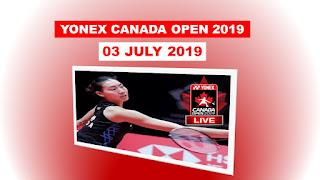 Live Badminton YONEX CANADA OPEN 2019