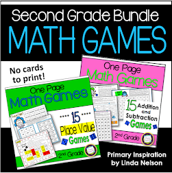 Second Grade Math Bundle!