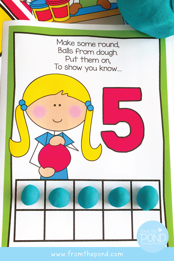 Number Play Dough