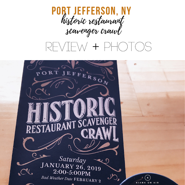 Port Jefferson Historic Restaurant Scavenger Crawl - Review & PHOTOS | Adventure Log