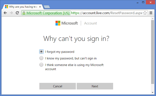 Cara Reset Forgotten Password Login Windows 10