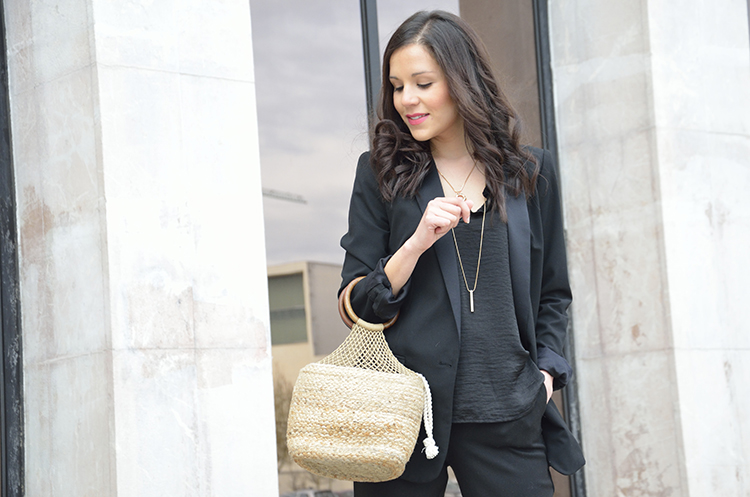 black look bolso saco yute trends gallery outfit%2B1 BLACK