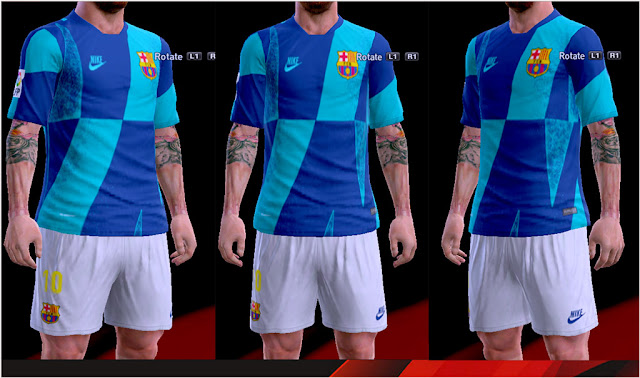 new concept 27cac ecb32 PES 2013 CL Pre-Match Kit Barcelona 2019-2020