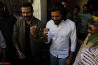 Vivek Oberoi and Riteish Deshmukh Promoting Their movie Bank Chor~  Exclusive 28.JPG