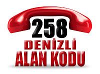 0258 Denizli telefon alan kodu