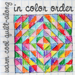 Half-Square Triangle Tutorial - In Color Order