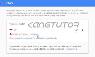 Verifikasi Email Gmail