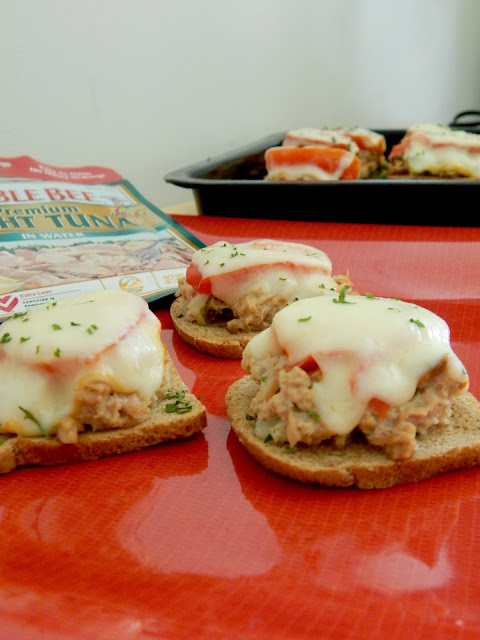 mini tuna melt sliders #sweetsavoryeats #covid19