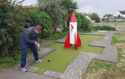 Crazy Golf in Prestatyn, Wales