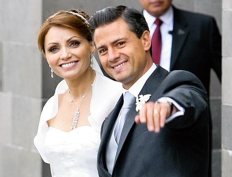 Peña Nieto y Angélica Rivera