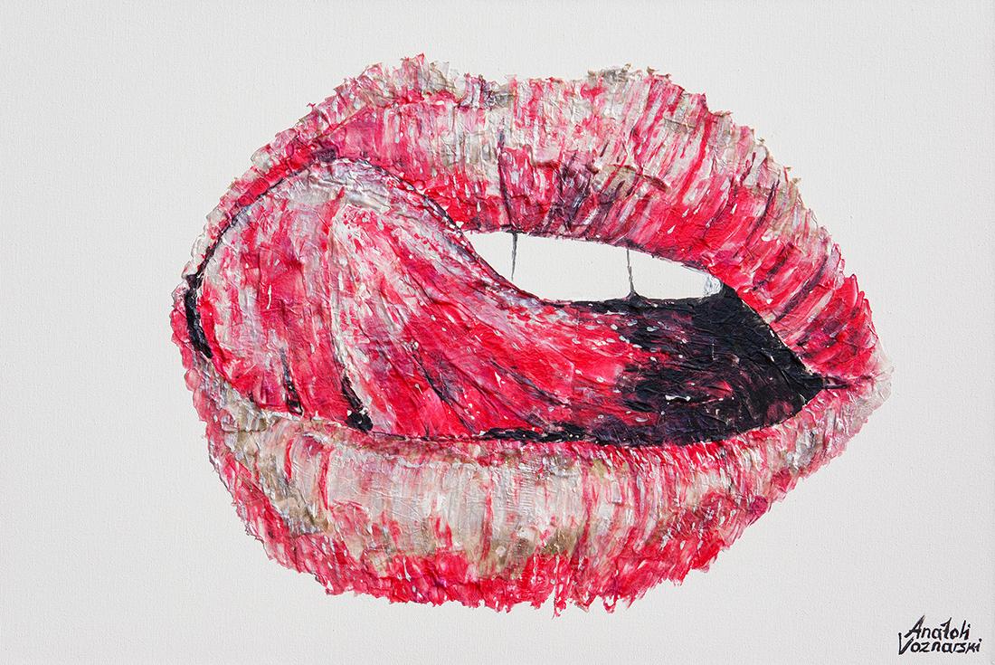 Lips Tongue painting,Lips Tongue acrylic,Lips Tongue pop art, office painting, red painting, sexy lips poster, sexy painting, abstract lips tongue,  abstract painting,