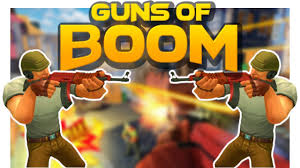 Guns of Boom Online Shooter MOD, Infinite Ammo/Range Increased free