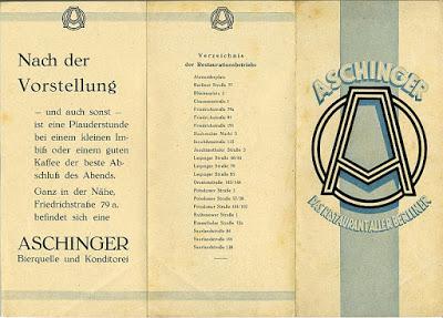 Weimar Berlin January 2020
