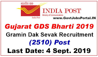 Gujarat Post Circle Recruitment 2019