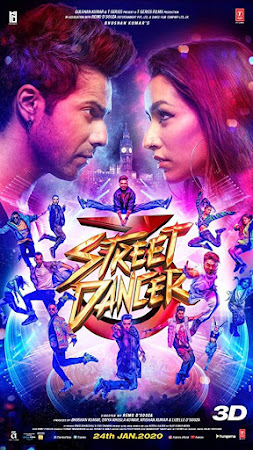 Poster Of Hindi Movie Street Dancer 3D 2020 Full HD Movie Free Download 720P Watch Online