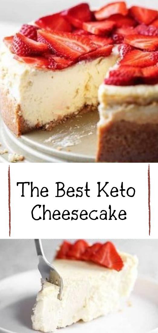 The Best Keto Cheesecake #desserts #cakerecipe #chocolate