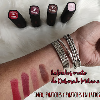 Labiales Milano Red Mat: Info, swatches y swatches en labios