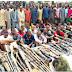 Nigeria police force  arrested  2,175 suspects