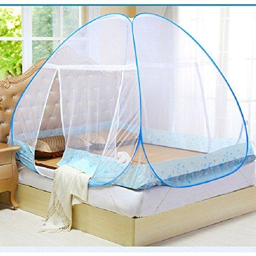 Portable Folding Mosquito Net Tent Bed Anti Zipper Mosquito Bites POP UP Net