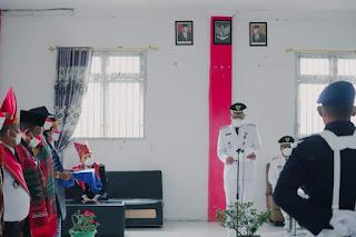 Bupati Humbahas Pimpin Upacara Pemberian Remisi Dalam Rangka HUT Ke-76 Kemerdekaan RI