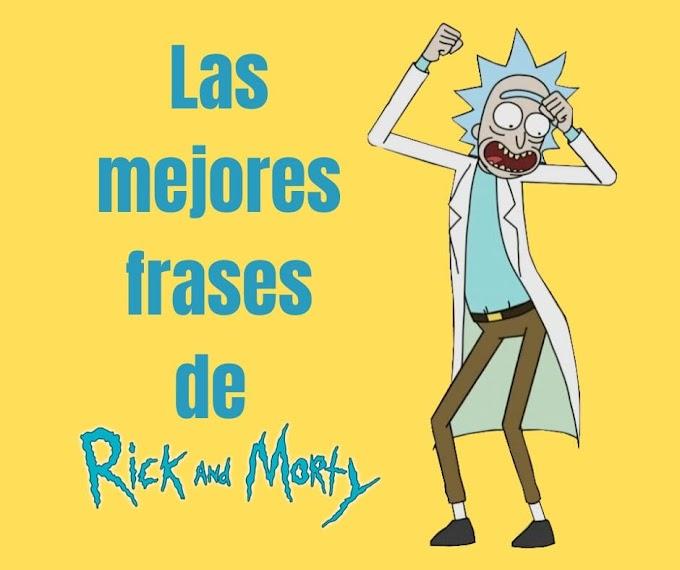 Las mejores Frases de Rick y Morty