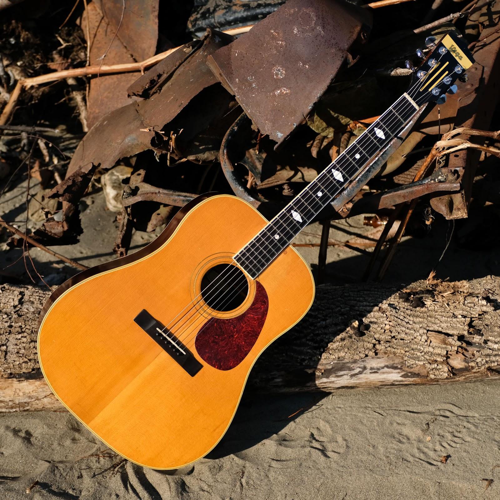 1940s Vega Profundo Brazilian Rosewood Dreadnought Guitar