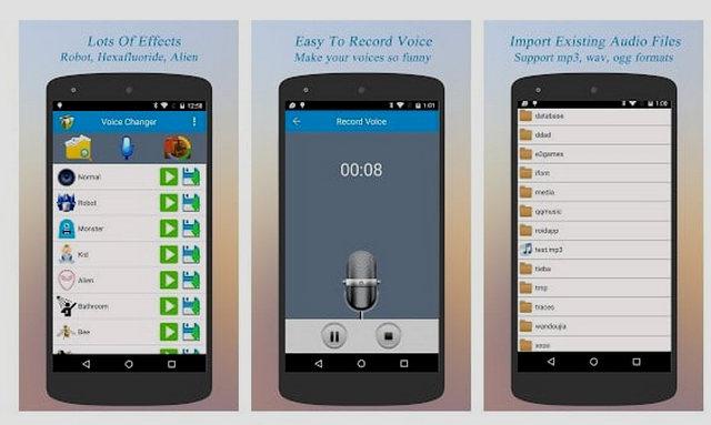 أفضل 5 تطبيقات لتغيير الصوت المجانية للأندرويد لعام 2019