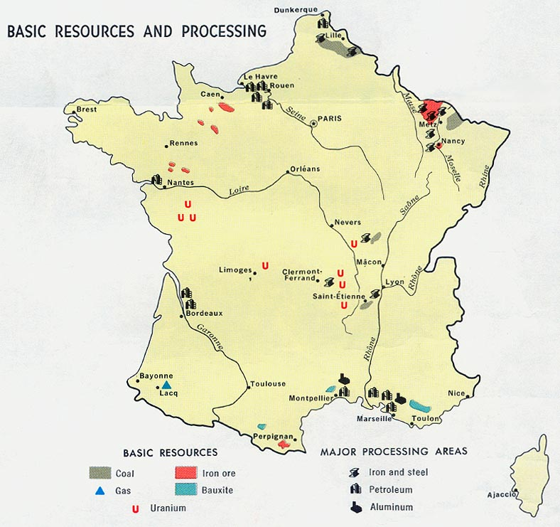 Mapas da França