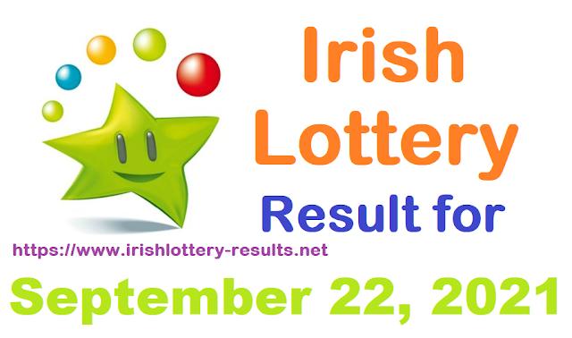 Irish lottery results for September 22, 2021