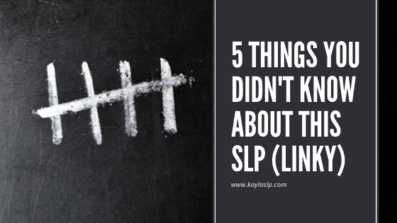 5 Things You Didn't Know About This SLP + Giveaway!