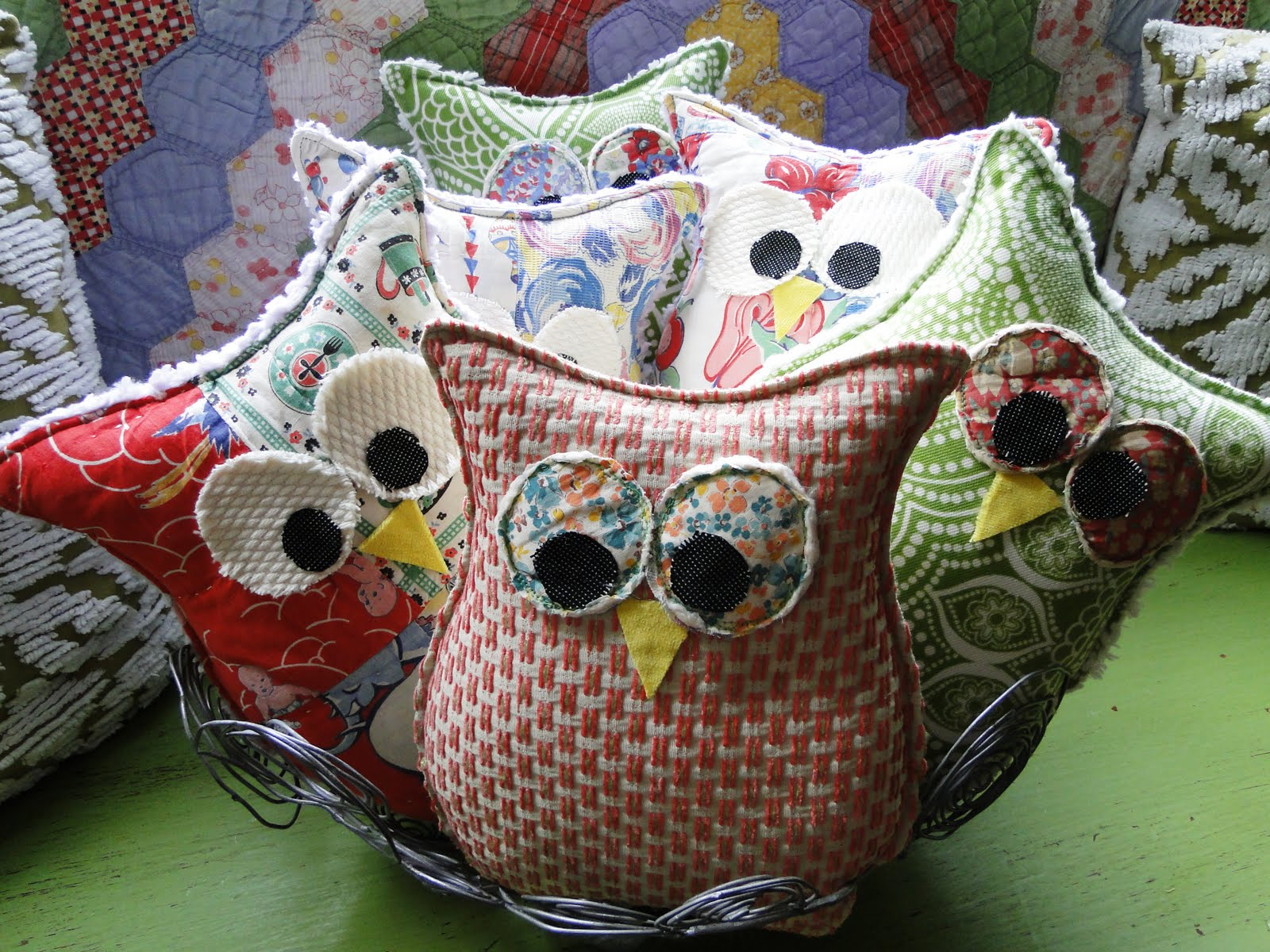 Stuff Owl Stuffed Owls Practical Diy Pinterest