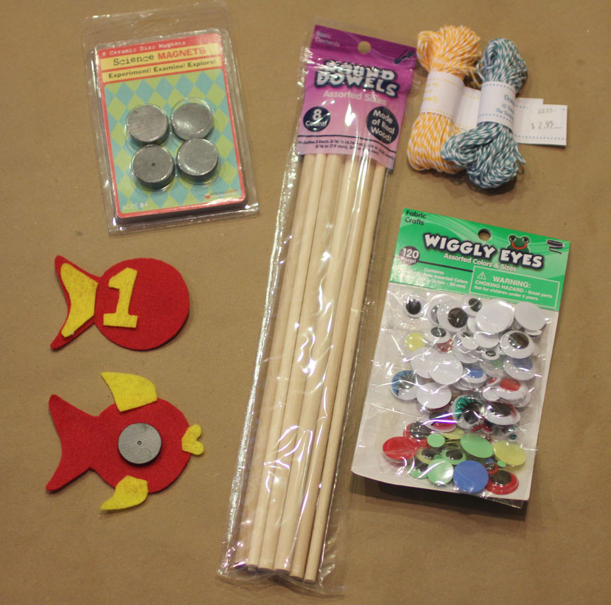 Diy Fishing Game With Felt Fish Repeat Crafter Me