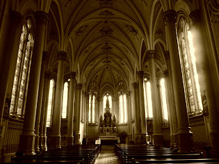 Interior da Catedral de Vacaria