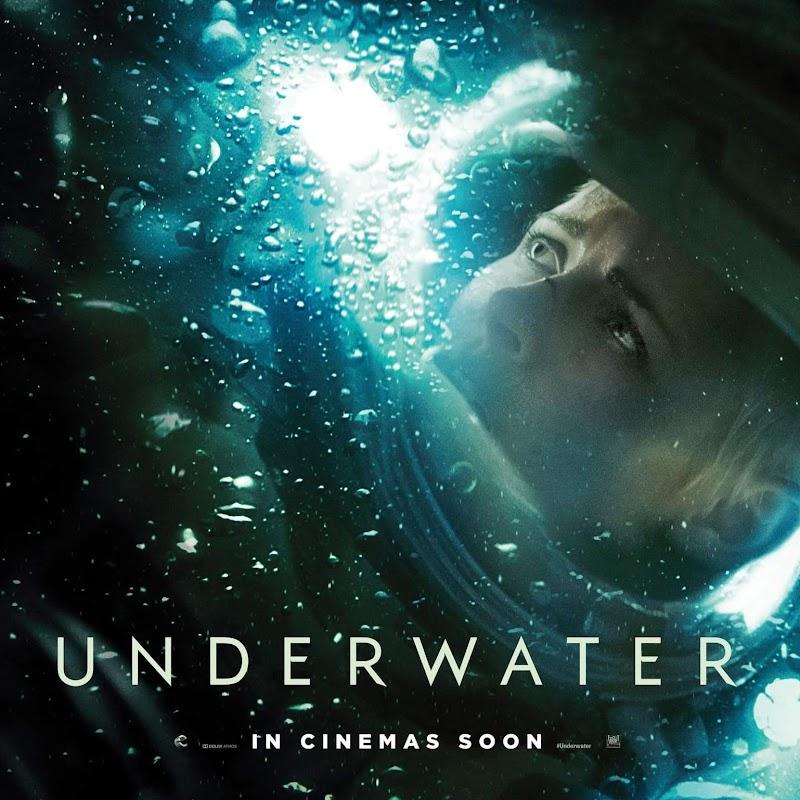 Underwater (2020) - Posters : クリステン・スチュワート主演の海底サバイバル映画のアクション・スリラー「アンダーウォーター」のポスター・ギャラリー ! !
