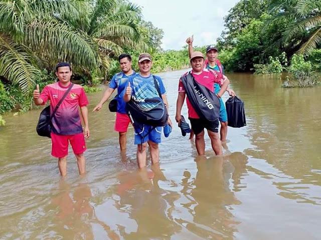 Dua Kecamatan di Muratara Kembali Terkena Banjir