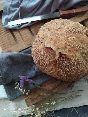 Pan sin amasado No knead bread