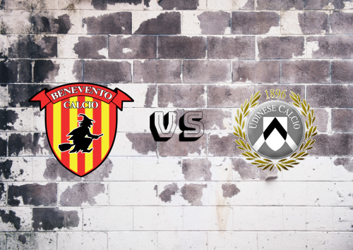 Benevento vs Udinese  Resumen