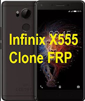 Infinix Zero X555 clone SPD Chip FRP Google account reset.