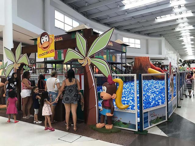 """Atração infantil inédita """"Ilha Macakids"""" chega ao Shopping Grande Rio para animar as férias da criançada"""