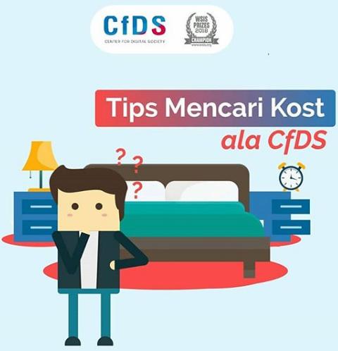 Tips Mencari Kost ala CfDS (Center for Digital Society) UGM
