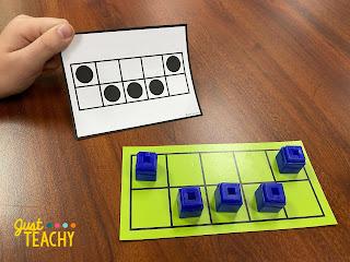 Quick Images on Ten Frame for Number Sense