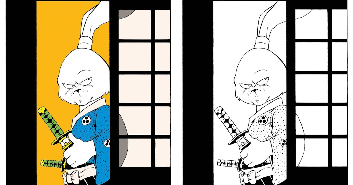 The Blot Says...: SDCC 2019 Exclusive Usagi Yojimbo's 1st