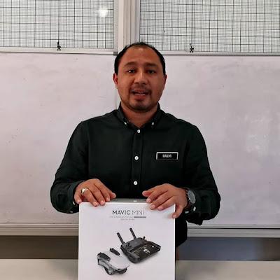 Dron Dalam Pengajaran, Jom UNBOXING DJI Mavic Mini!